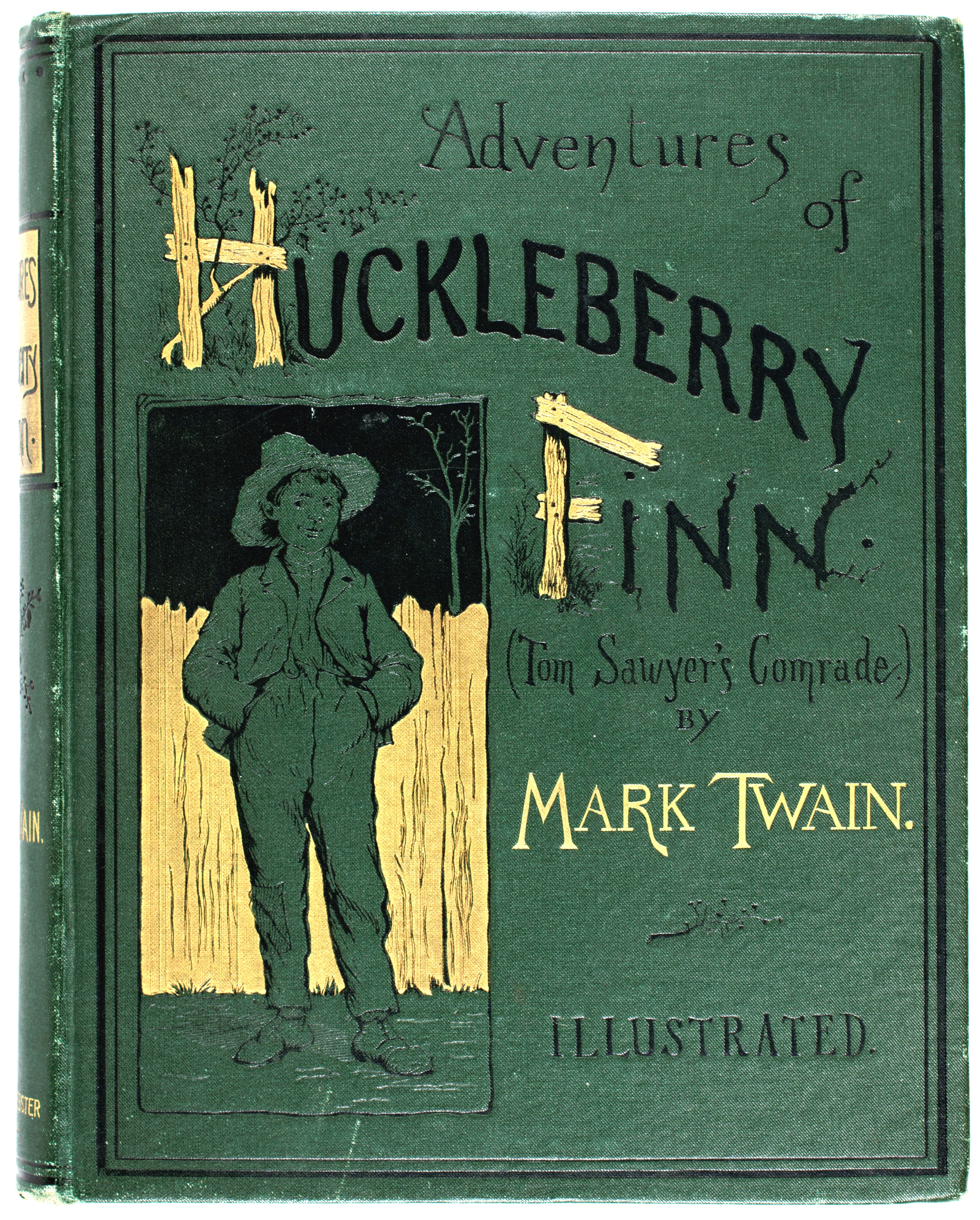 an overview of the adventures of huckleberry finn The adventures of huckleberry finn (tom sawyer's comrade)by mark twain a gl assbook cl assic.