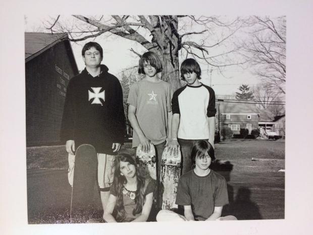 Skater kids, Cortland, NY (Spring 2007)