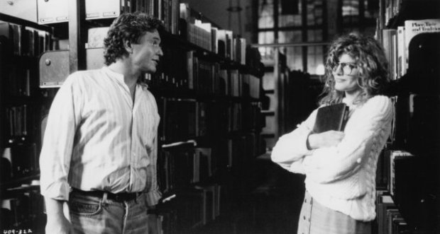 Rene Russo's hot librarian in Major League